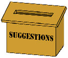 Helping Hands Suggestion Box