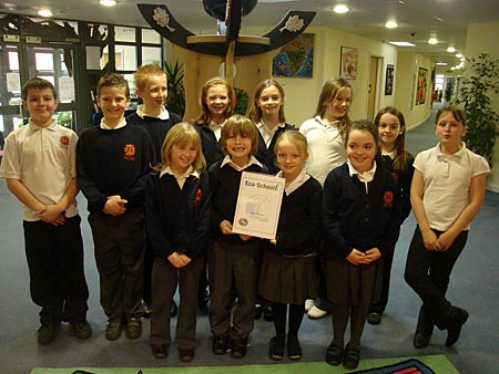 Eco Action Group have gained another prestigious award for Red Oaks – the much coveted Eco Schools Silver Award.